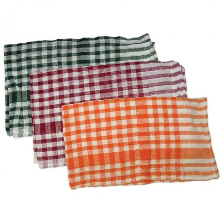 "Checks Duster/Table-Kitchen Duster 45""X70"" cms"
