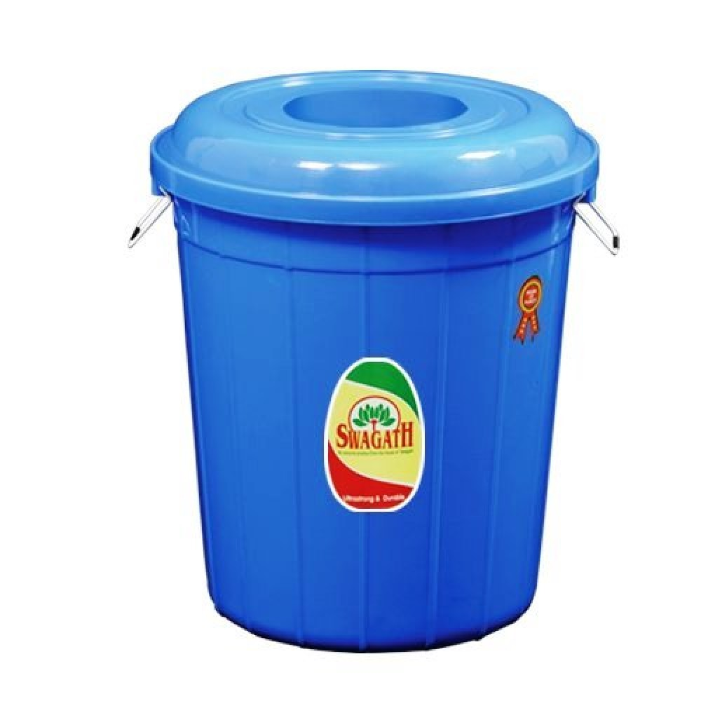Dust Bin Round With Lid (80 Litre)
