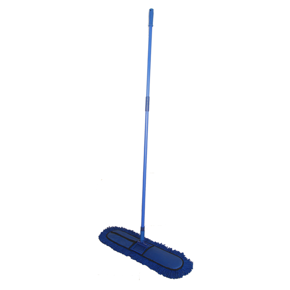 """Dry Mop/ Dust Control Mop Set 24""""X5"""" With 5' Handle"""