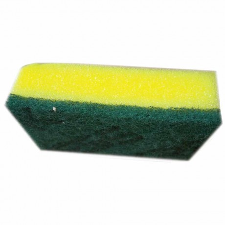 Sponge With Scrubber